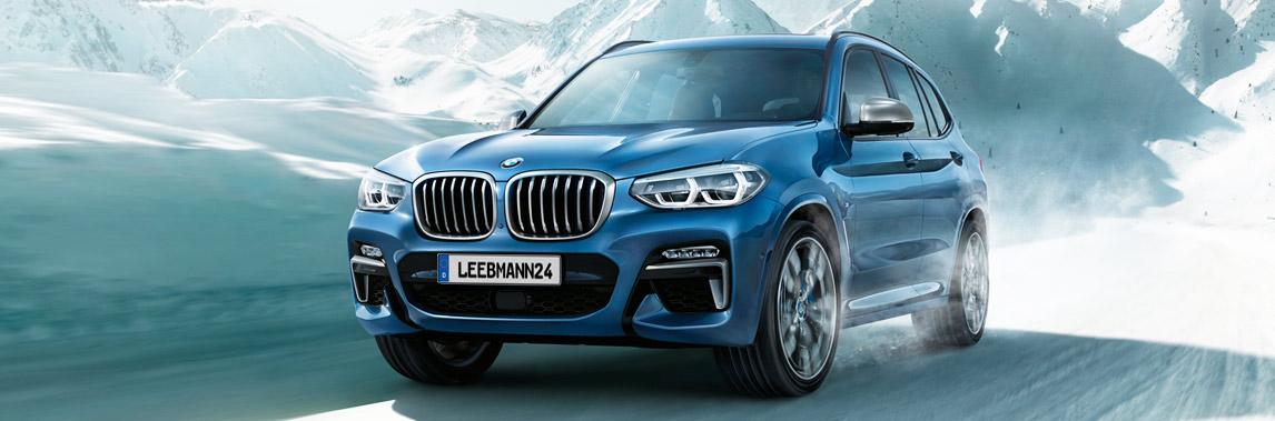 BMW X3 Winterkompletträder