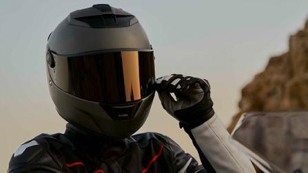 BMW Motorrad Helmaktion