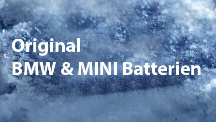 BMW & MINI Original Batterien