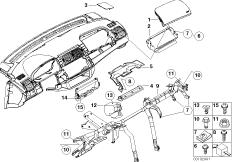 Anbauteile Instrumententafel