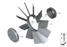 Kühlsystem-Lüfter / Lüfterkupplung