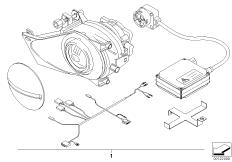 Nachrüstsatz Zusatzscheinwerfer Xenon