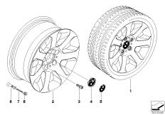 BMW LM Rad Sternspeiche 115