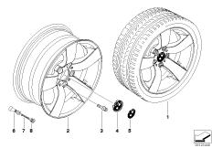 BMW LM Rad Sternspeiche 122