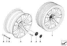 BMW LM Rad Sternspeiche 124