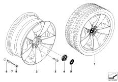 BMW LM Rad Sternspeiche 138