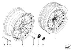 BMW Verbundrad Doppelspeiche 71