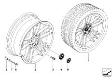BMW LM Rad Sternspeiche 89