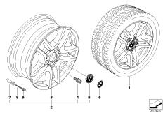 BMW LM Rad V-Speiche 130