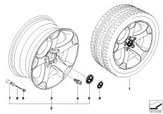 BMW LM Rad Y-Speiche 131