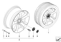 BMW LM Rad Sternspeiche 132