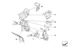 Verbindung Vorderbau / Seitenrahmen