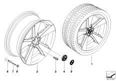 BMW LM Rad Sternspeiche 128
