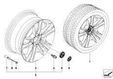BMW LM Rad Sternspeiche 153