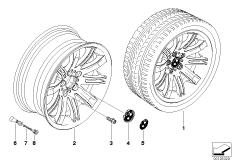 BMW LM Rad Doppelspeiche 120