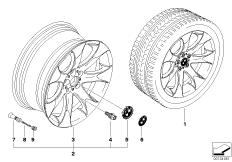 BMW LM Rad V-Speiche 168