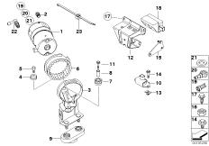 DSC Vorladepumpe / Sensoren / Anbauteile