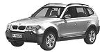 BMW X3 E83 SAV