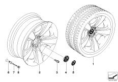 BMW LM Rad Sternspeiche 117