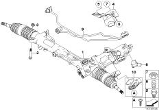 Hydrolenkgetriebe Aktivlenkung (AFS)