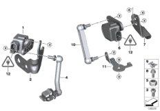 Sensor Leuchtweitenregulierung
