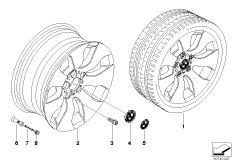 BMW LM Rad Sternspeiche 158
