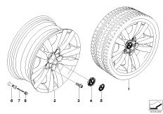 BMW LM Rad Doppelspeiche 161