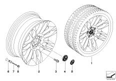 BMW LM Rad Doppelspeiche 195