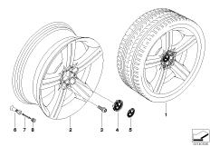BMW LM Rad Sternspeiche 199