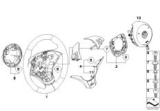 M Sportlenkrad Airb.-Smart Multifunktion