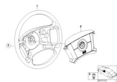 Lenkrad Airbag-Smart