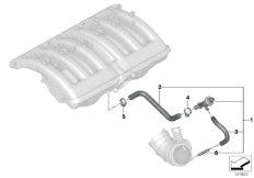 Unterdrucksteuerung-Motor
