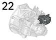 Motor-/ Getriebeaufhängung