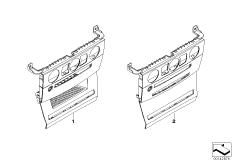 Individualholz Blende I-Tafel mitte