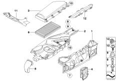 Mikrofilter / Gehäuseteile