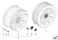 BMW LM Rad Y-Speiche 183