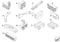 Bremsleitung vorne / Befestigung