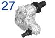 Verteilergetriebe / Elektro-Getriebe