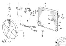 Kondensator / Lüfter / Trocknerflasche
