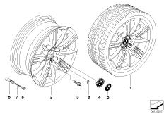 BMW LM Rad M Sternspeiche 193