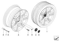 BMW LM Rad M Doppelspeiche 194