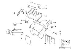 Kabelwanne / Sicherungskasten / Anbauteile