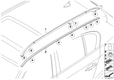 Dachzierleiste / Dachreling