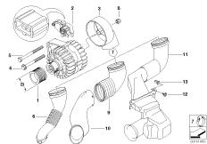 Generator Einzelteile 120A Bosch