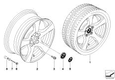 BMW LM Rad Sternspeiche 157