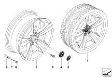 BMW LM Rad Sternspeiche 189