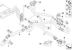 Wasserschläuche-Pumpe-Ventil IHKA High