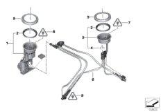 Kraftstoffpumpe  /  Füllstandsgeber