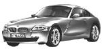 BMW Z4 E86 Coupé