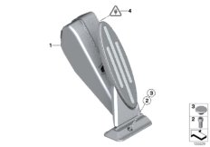 Gasbetätigung / Fahrpedalmodul